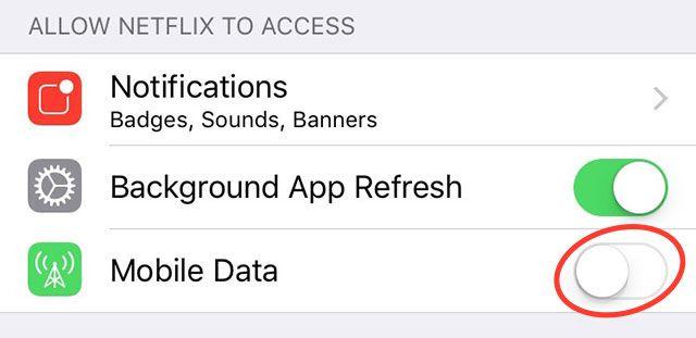 móviles de acceso