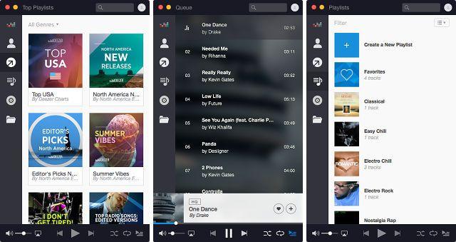 Deezer-música-app-mac