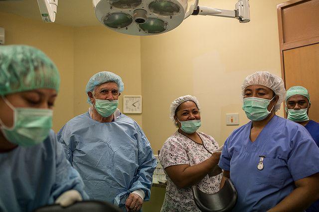 -quirúrgica equipo