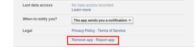 eliminar-facebook-App