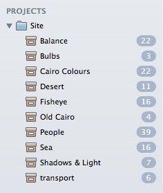 organizar las fotos en Mac