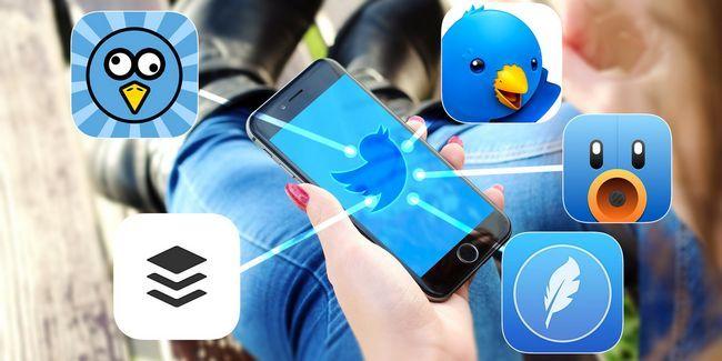 Olvide aplicación oficial de iphone de twitter, utilizar estos en su lugar