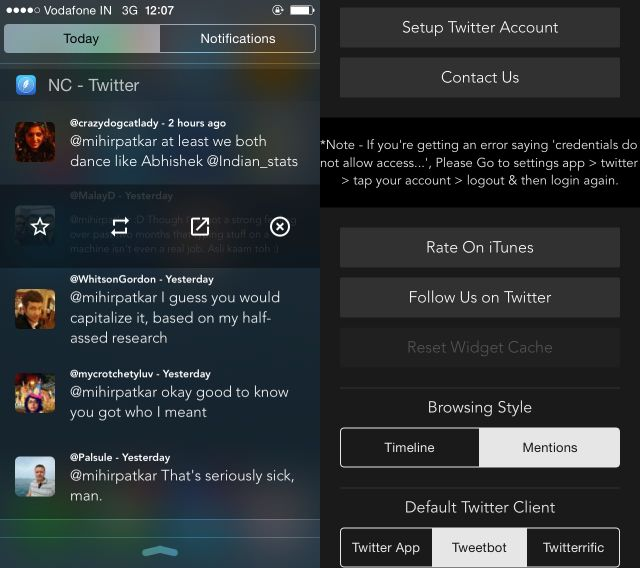 NC-twitter-widget de-para-iOS-8
