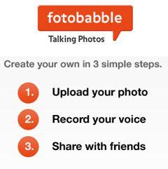 Fotobabble - sea perfecta imagen mediante la adición de voz a sus fotografías