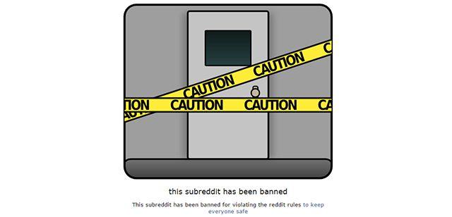 página prohibido