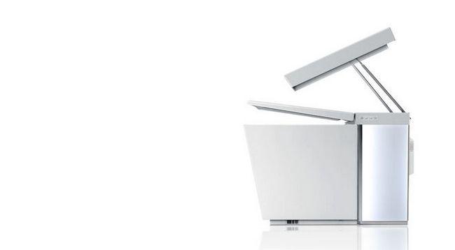 Kohler Numi mitad WC, inaugurado baño elegante