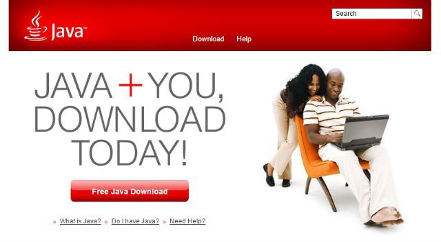 El sitio de Java