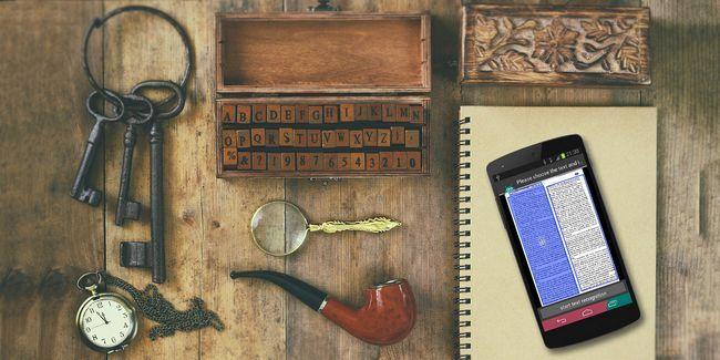 Obtener las habilidades de investigación detective loco con pdf trucos y un smartphone