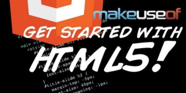 Empezar a trabajar con html5