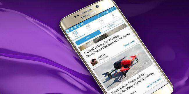 Obtener lo mejor de makeuseof con nuestra nueva aplicación para android, y ganar una ventaja samsung galaxy s6!