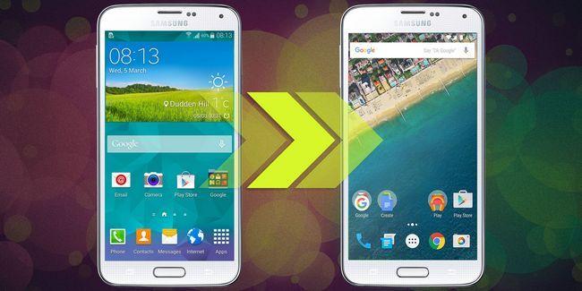 Obtener la experiencia de android en cualquier teléfono sin raíz