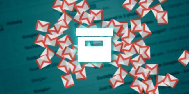 Cómo archivar todos los mensajes de correo electrónico en gmail viejos y llegar a la bandeja de entrada cero