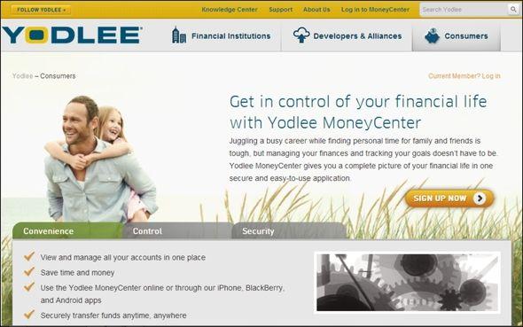 sitios web financieros