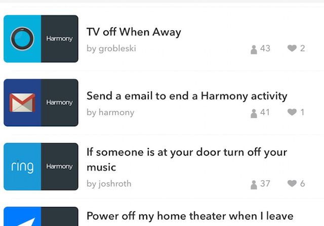 ifttt-armonía