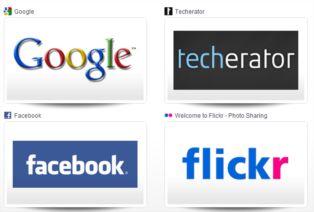 Dará página de nueva pestaña de google chrome con un cambio de imagen de marcación rápida
