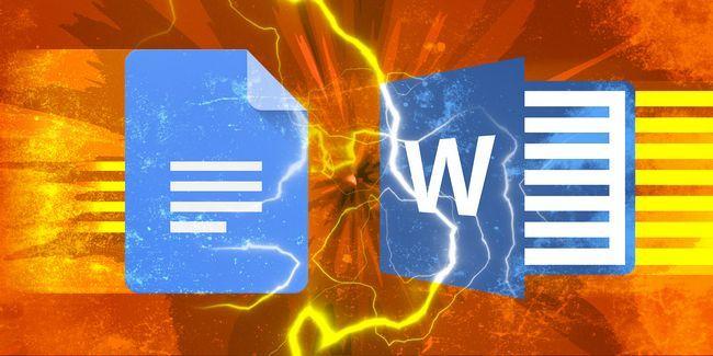 Google docs vs microsoft word: el partido de muerte para la escritura de investigación