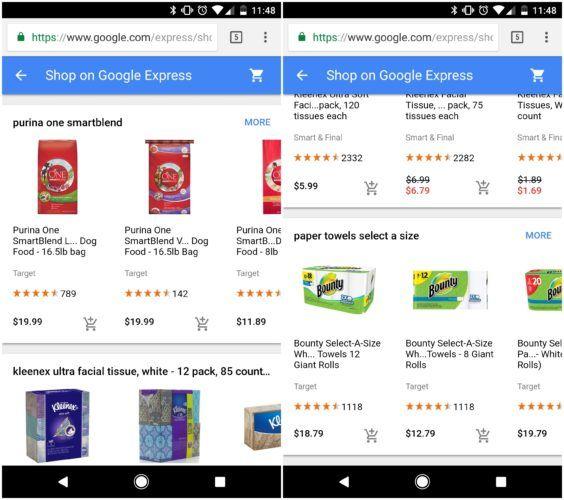 compras de Google Express