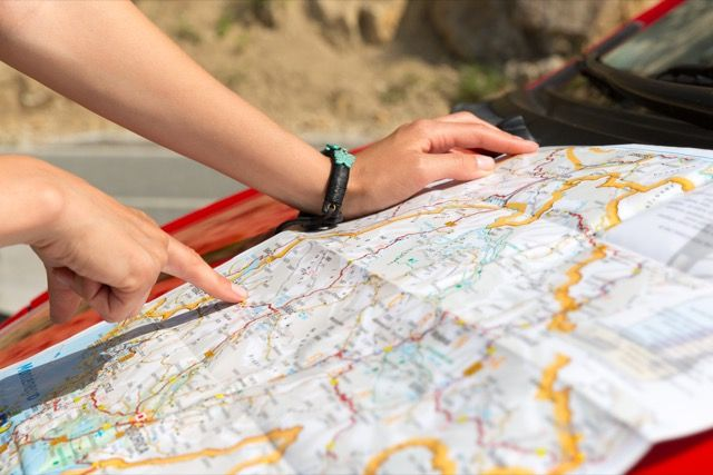 lectura del mapa
