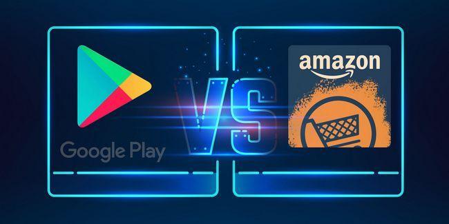 Google vs jugar amazon appstore: que es mejor?