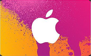 tarjeta de regalo iTunes sola