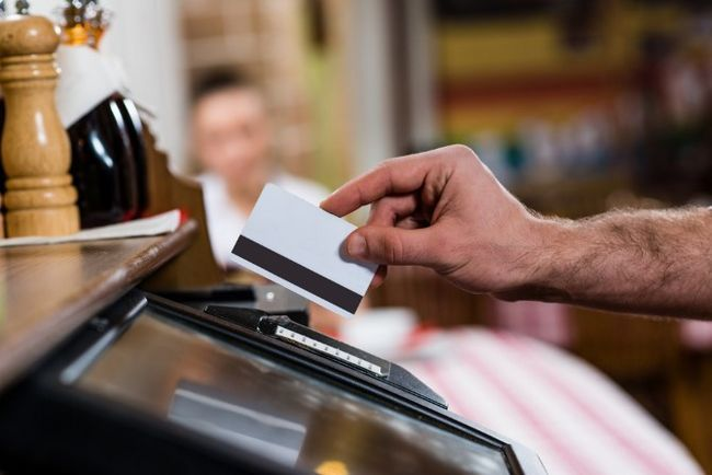 Tarjeta de crédito clonadas bancaria