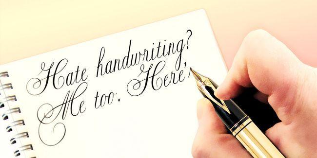 El odio escritura a mano? Yo también. He aquí por qué debemos enseñar todos modos.