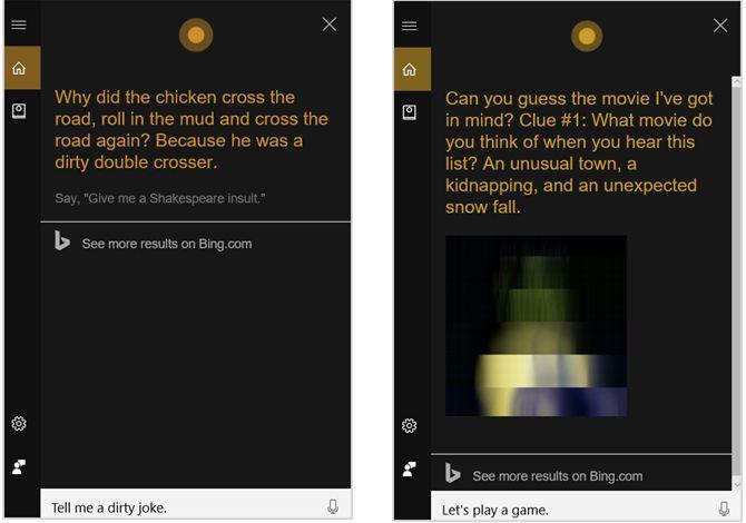 Cortana Diversión