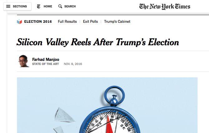 elecciones Silicon Valley