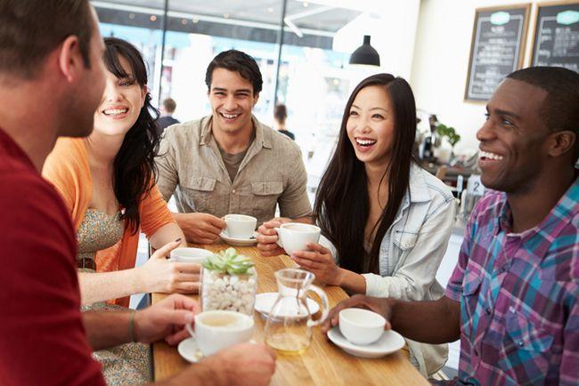 Evento social en el Coffee Shop