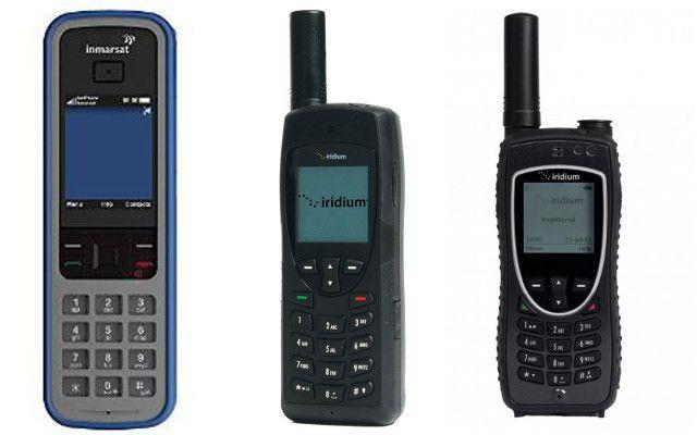 SAT-teléfonos