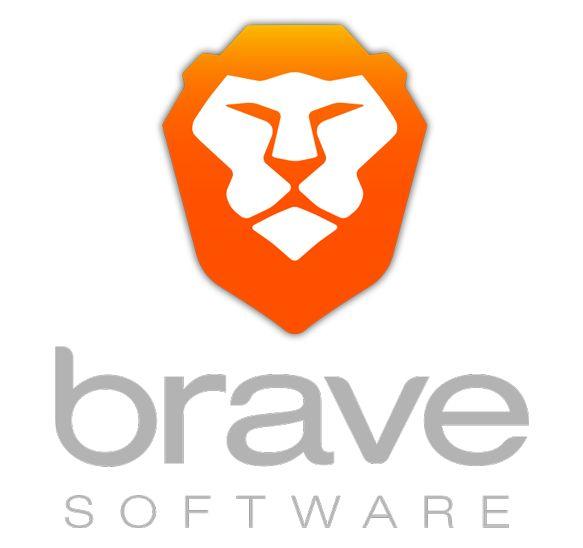 valiente logotipo del navegador
