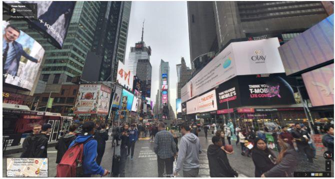 Google ejemplo vista de la calle