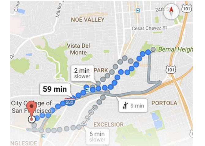 Mapas Google direcciones