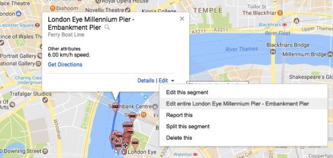 Los mapas de edición de Google