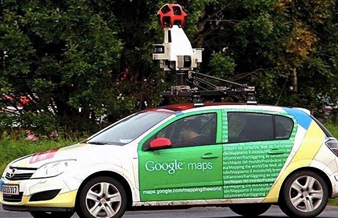 Google Maps Street View de la cámara
