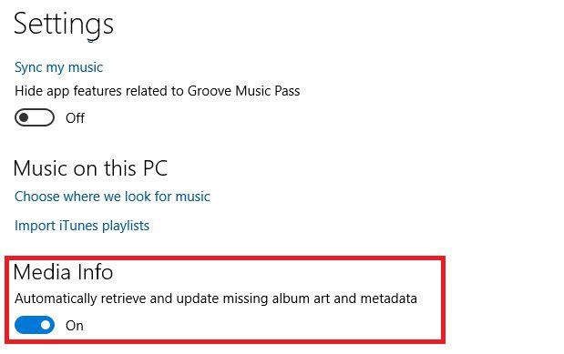 Xbox Music apagar metadatos