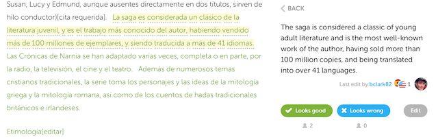 Duolingo-traducción