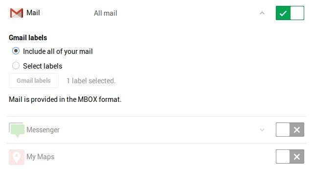 gmail-en-google-Comida para llevar
