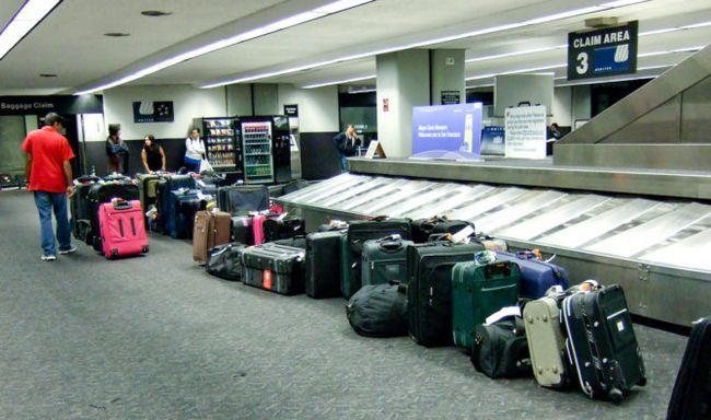 De recogida de equipajes-PLC