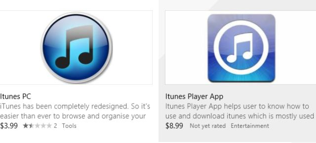 iTunes en Windows