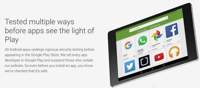 Google Play Store de Seguridad