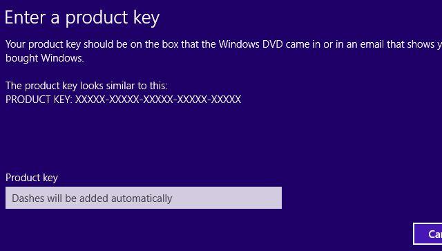 windows-8-cambio a productos clave de diálogo