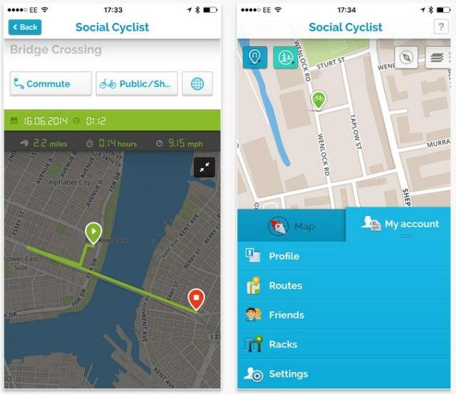 El ciclista sociales