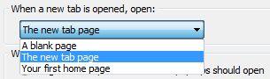 Internet Explorer 11 Nueva pestaña