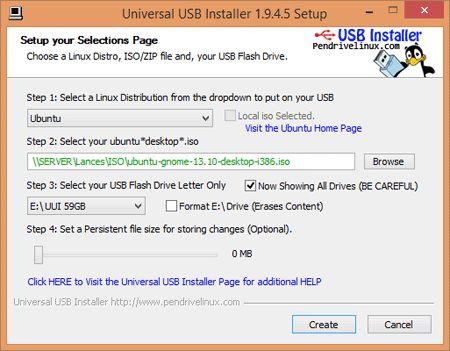 universal USB-instalador-Linux