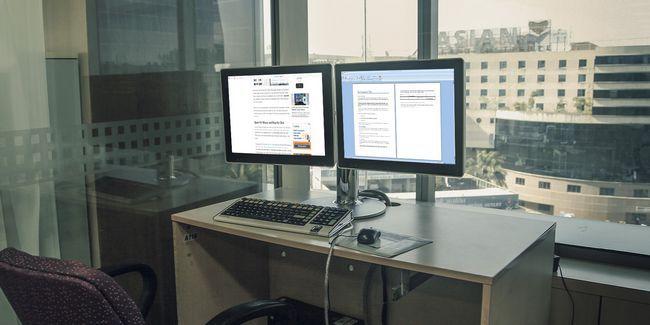 Cómo ser más productivo con monitores duales