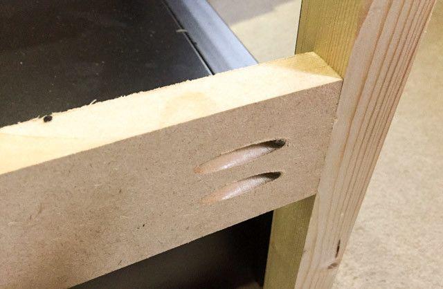 diy construcción rack caso -7 barra lateral