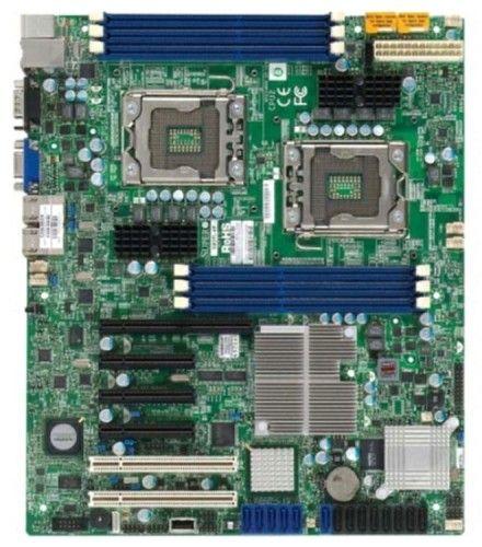 LGA1366 dual socket placa base Supermicro