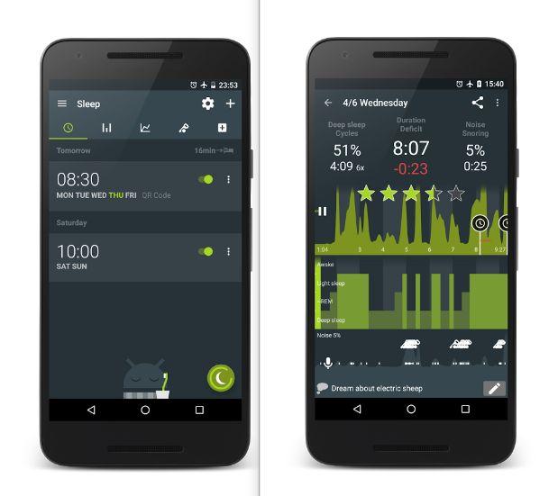 Sueño como Android Mobile App