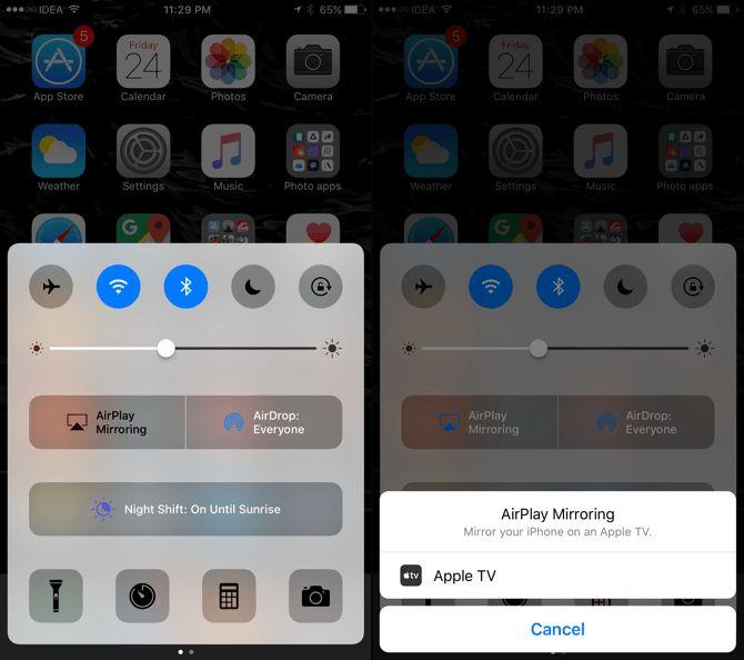Duplicación de AirPlay en iOS